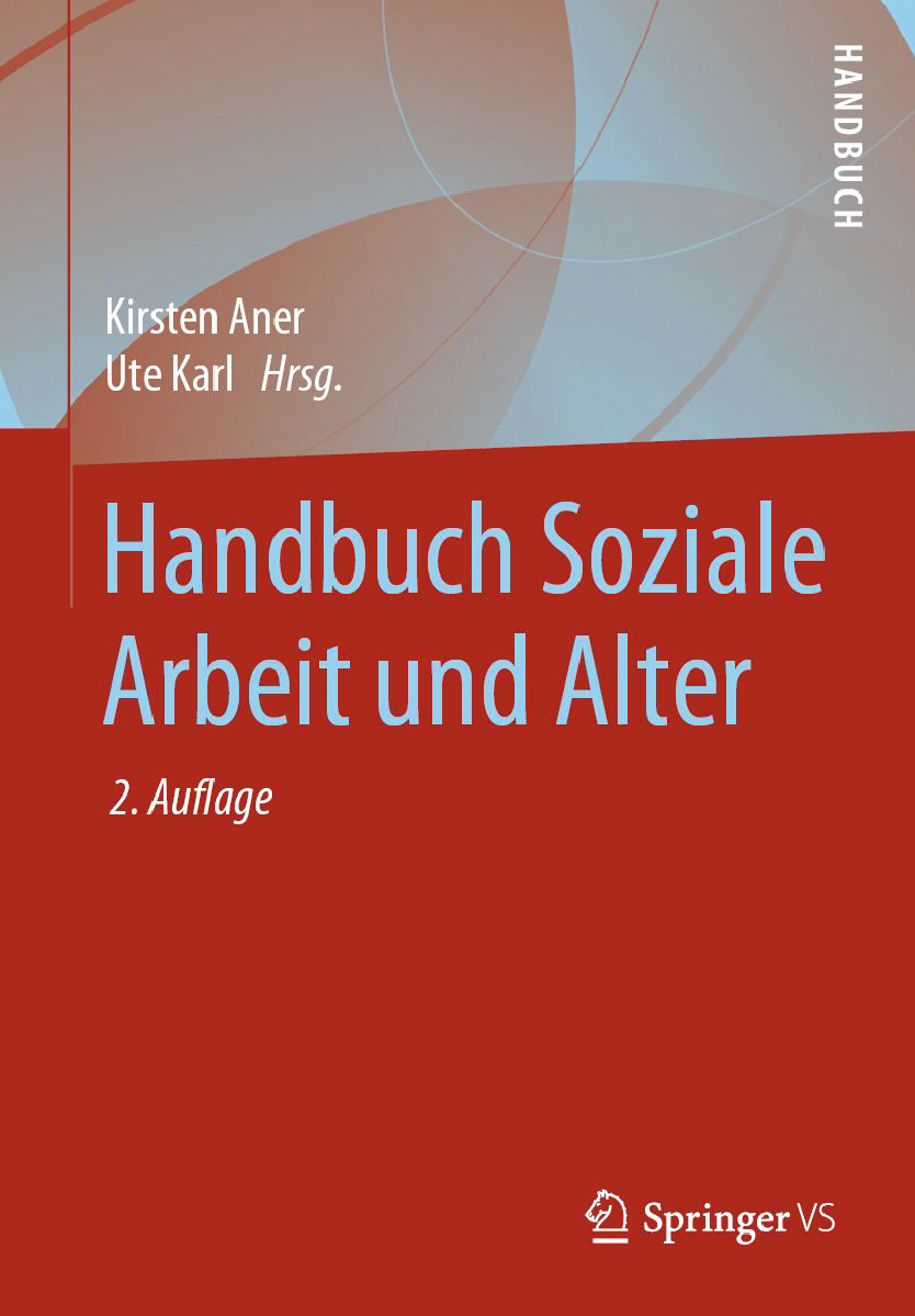 Photo of the book cover Handbuch Soziale Arbeit und Alter.