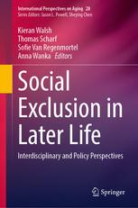 Image of the book cover for Social Exclusion in Later Life: Interdisciplinary and Policy Perspectives